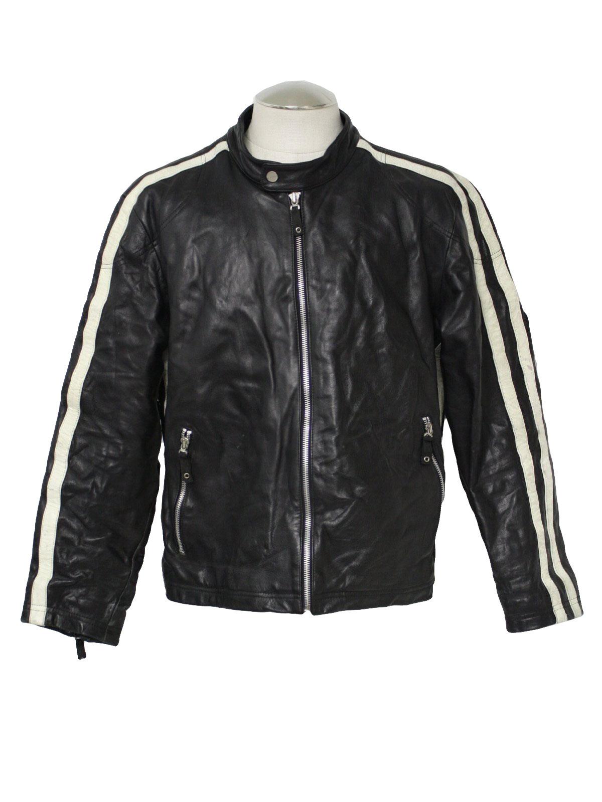 Wilson Leather Jacket Mens - Jacket
