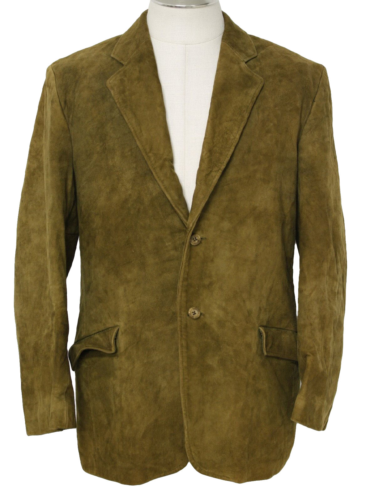 Vintage Robert Lewis 1970s Leather Jacket 70s Robert