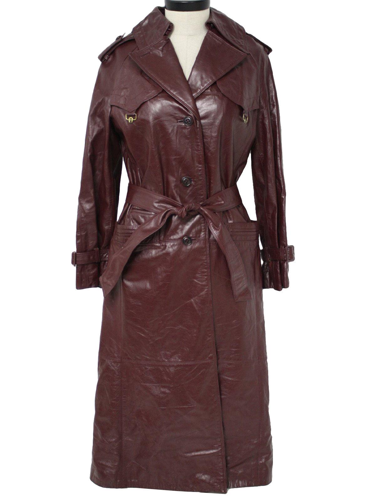 1970 S Leather Jacket Etienne Aigner 70s Etienne
