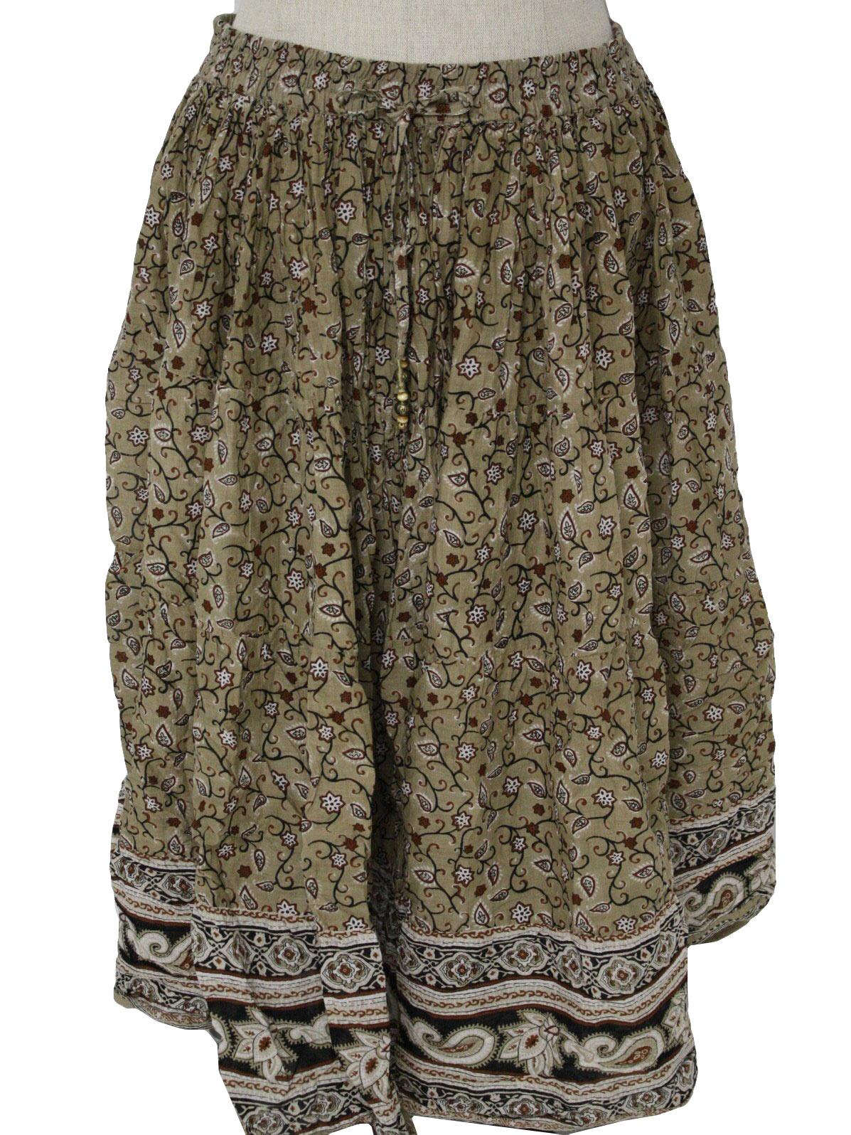 Shop Women Clothing Skirts Boden Tan Knee Length