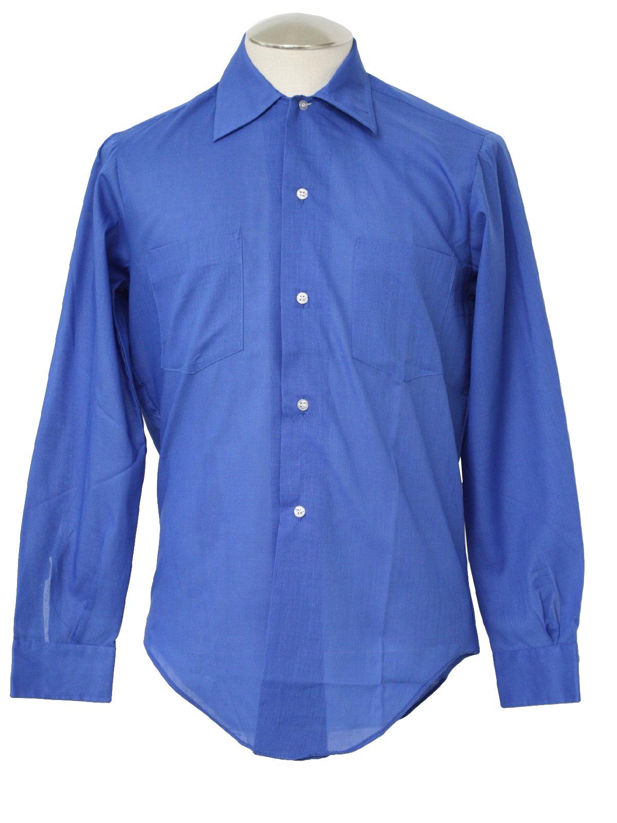 60 39 S Bud Berma Shirt 60s Bud Berma Mens New Old Light