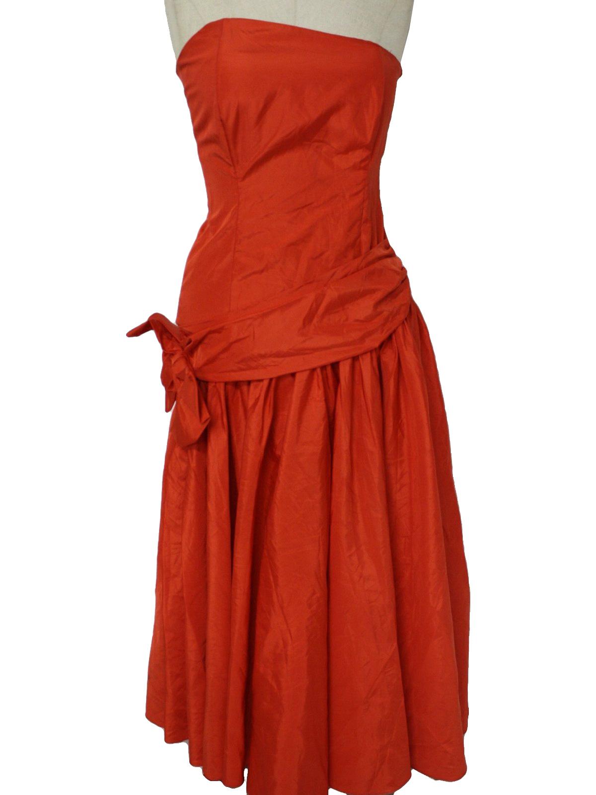 1970s Formal Dress 1970's carol cocktail dress