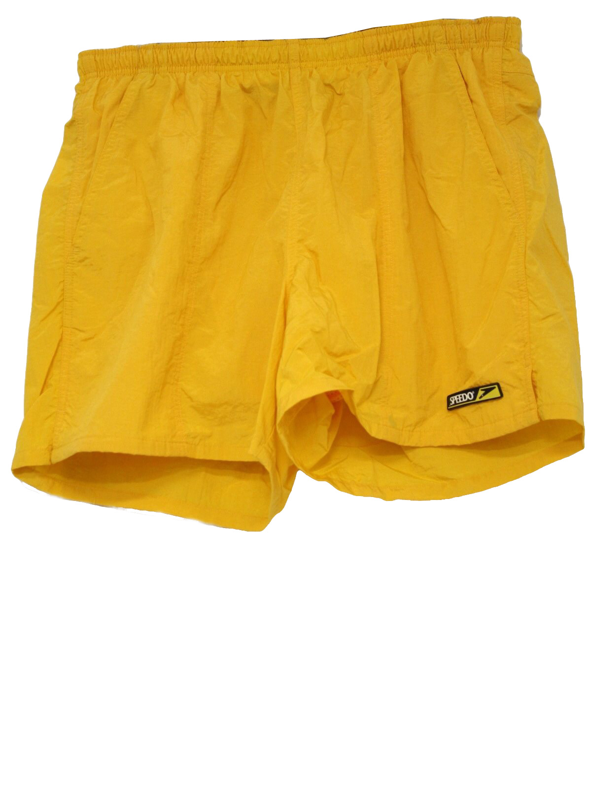 c8d4e142c3 Speedo Nineties Vintage Swimsuit/Swimwear: 90s -Speedo- Mens bright ...