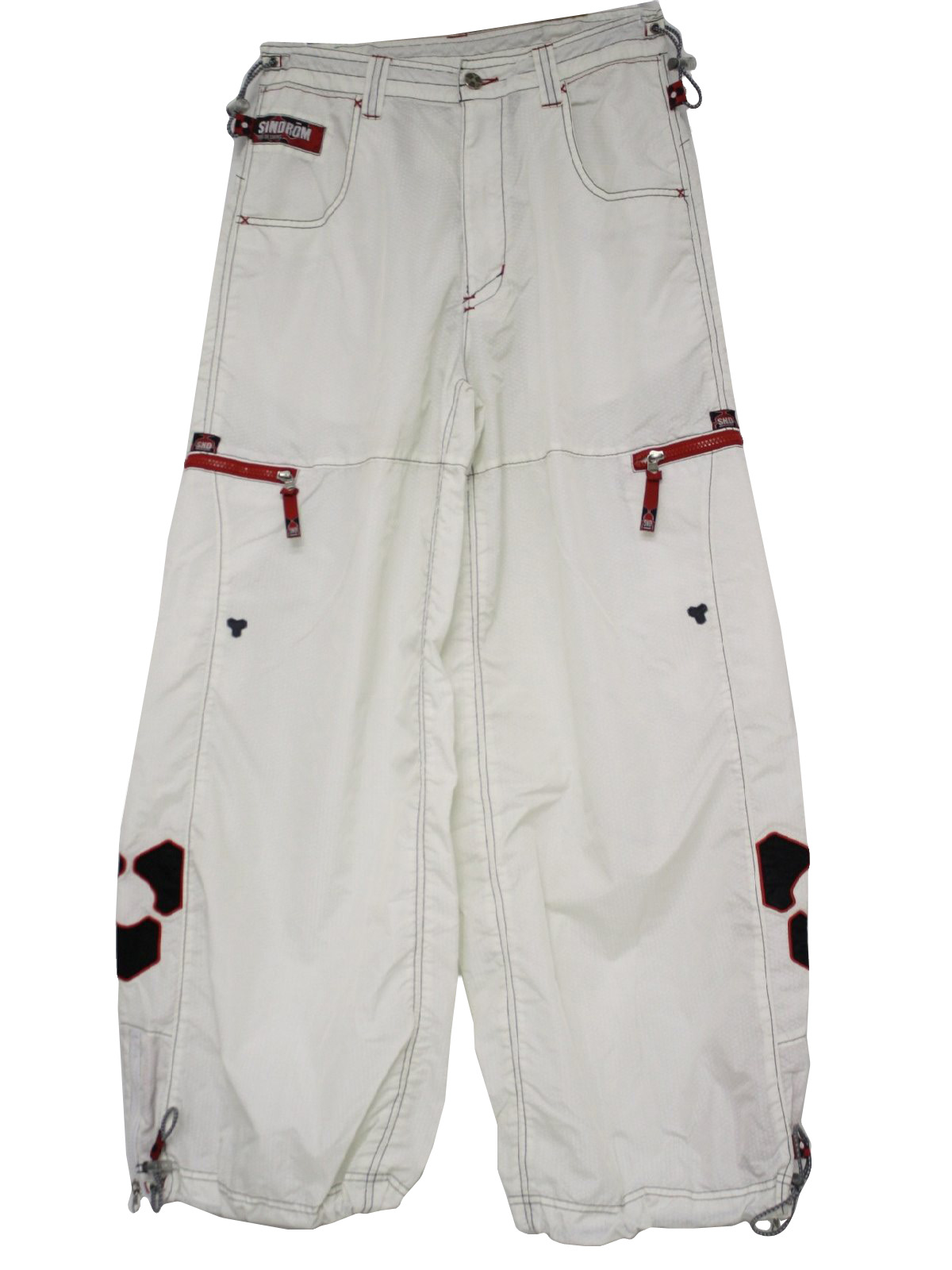 Nylon Taffeta Snow Pants 97