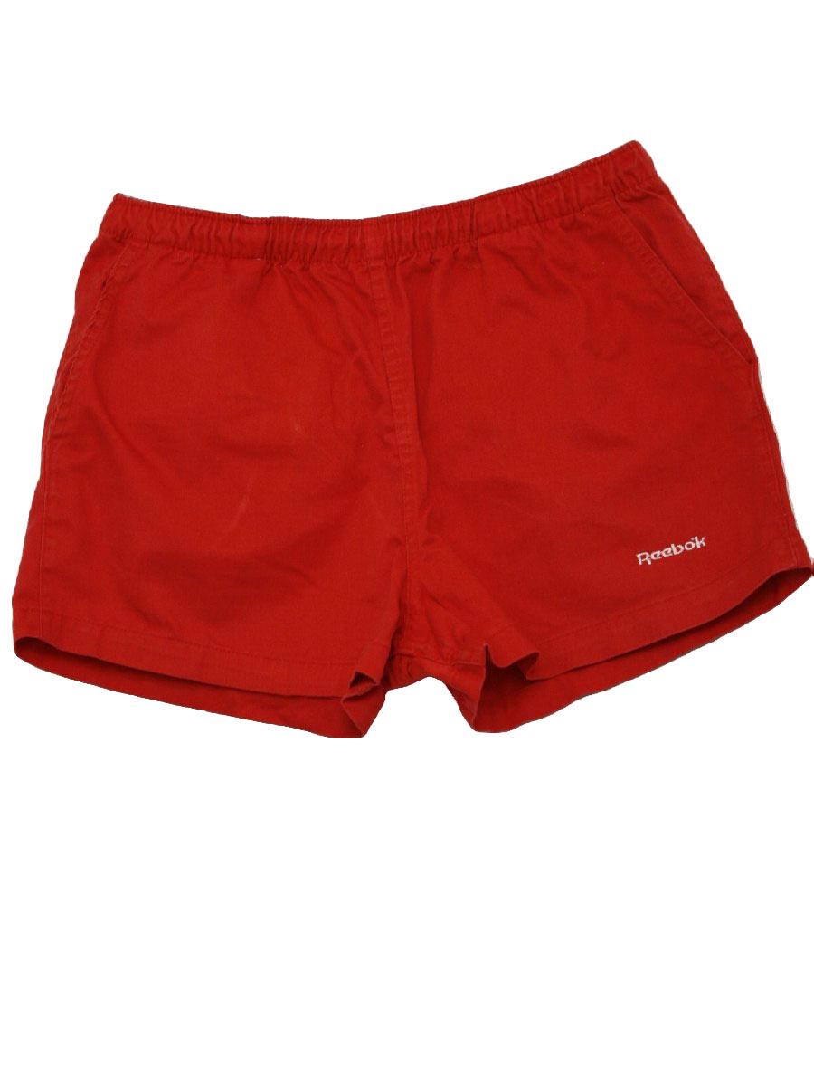 1980's Shorts (Reebok Sport): Late 80s -Reebok Sport- Mens red ...