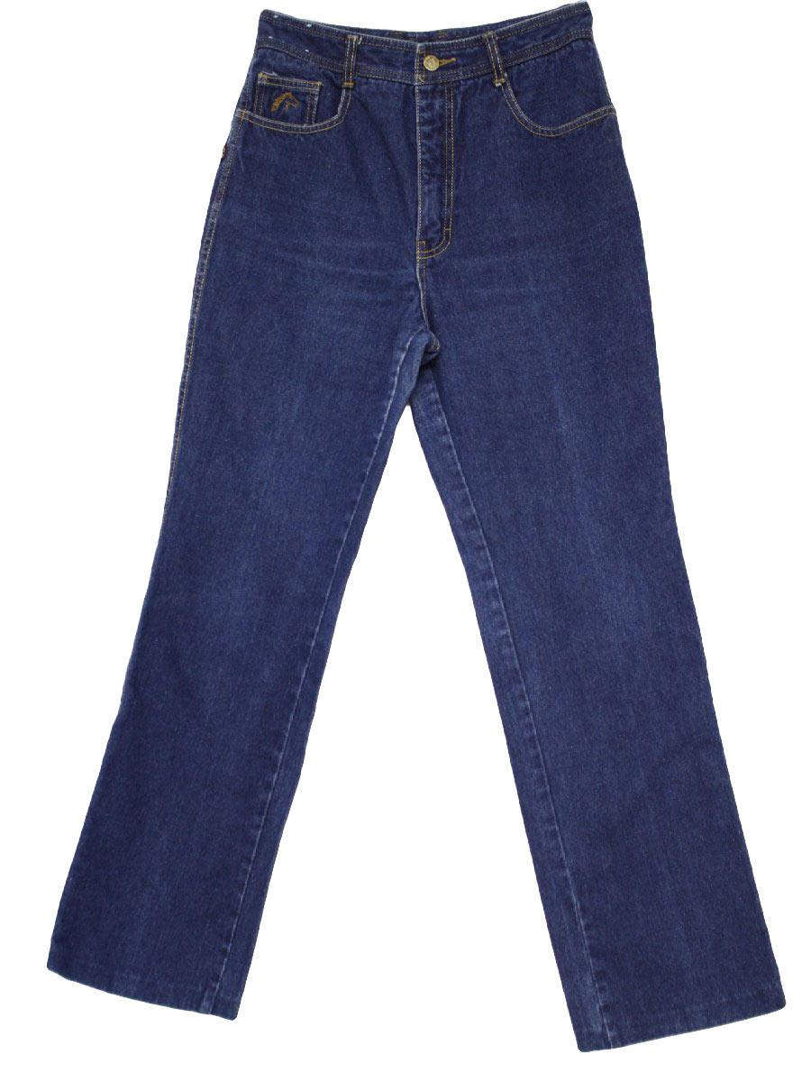 Vintage 1980 S Pants 80s Jordache Womens Dark Blue