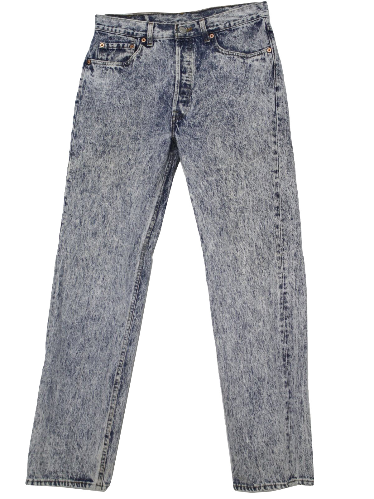 Acid wash jeans 80s men
