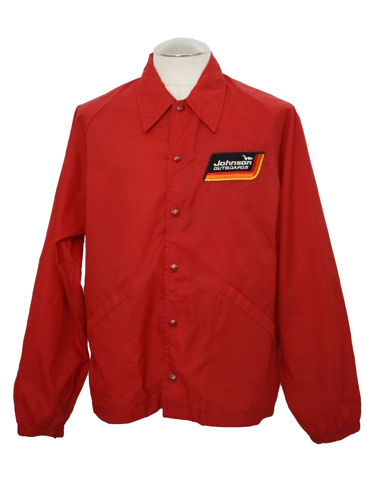 Retro 1980's Jacket (Swingster) : 80s -Swingster- Mens red nylon ...