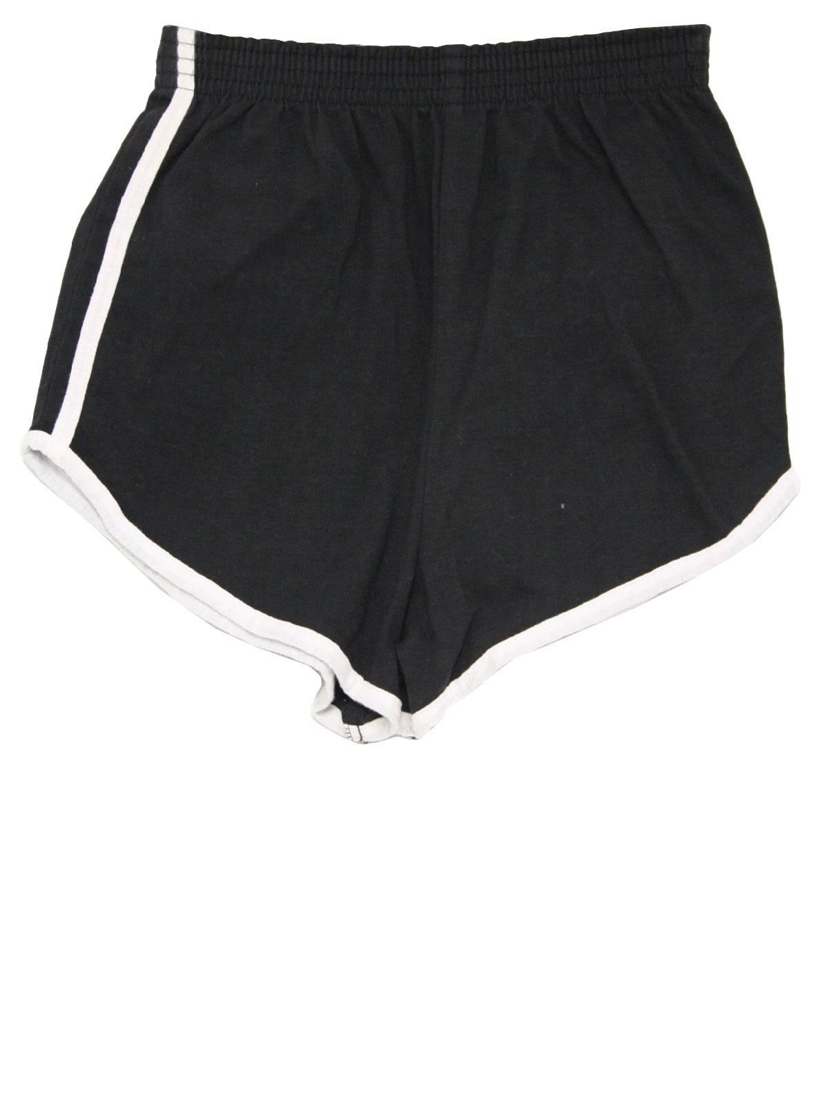 1970's Vintage Medallion Shorts: 70s -Medallion- Unisex black ...