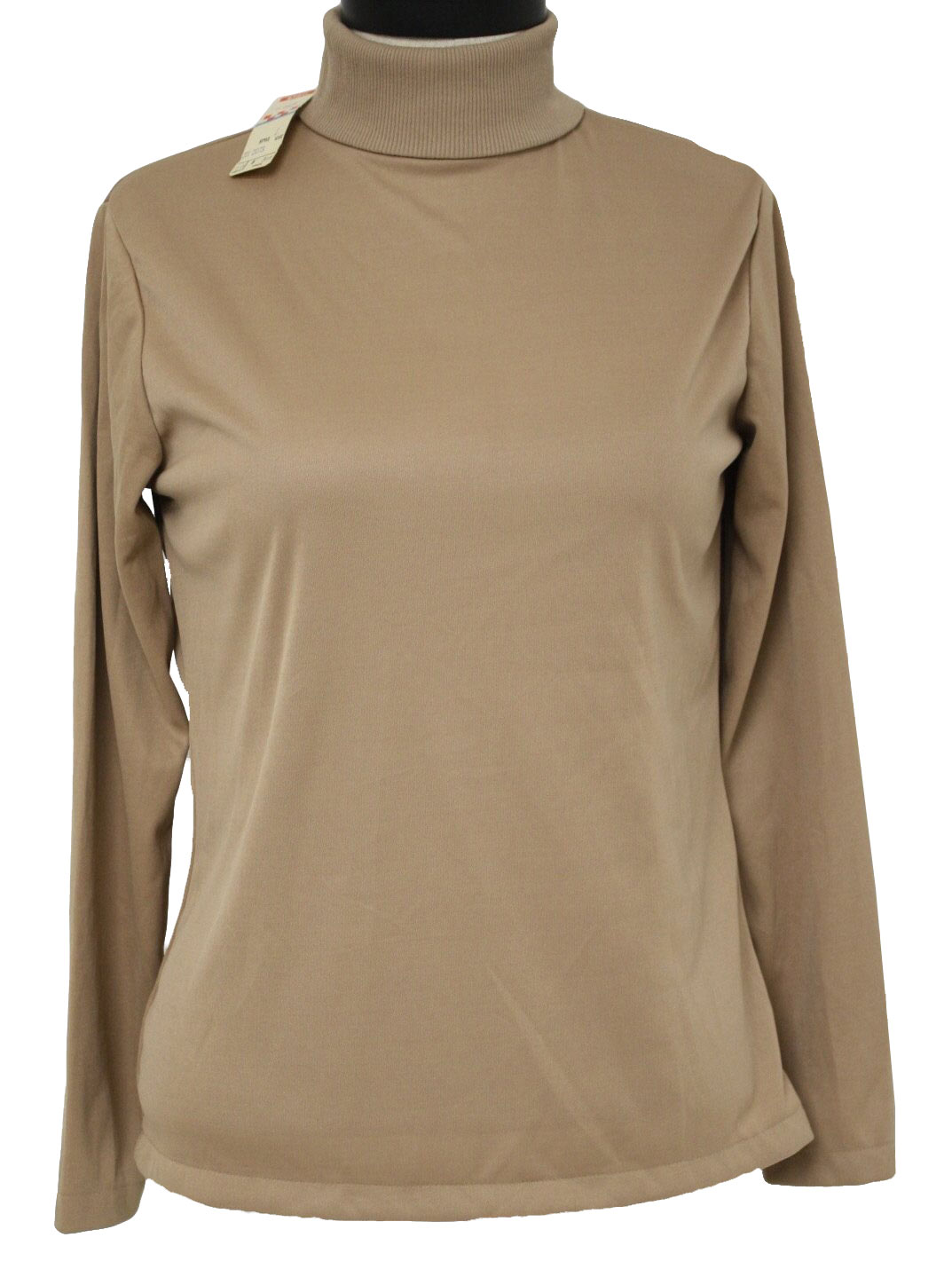 Mens Brown Turtleneck Shirts