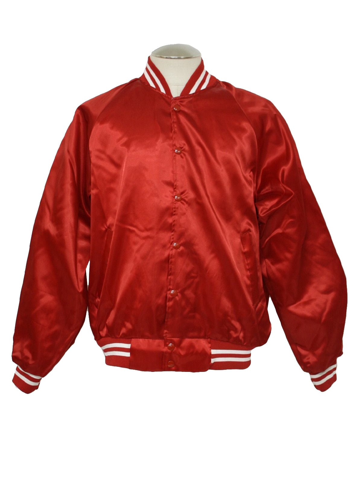 Red Nylon Windbreaker 33