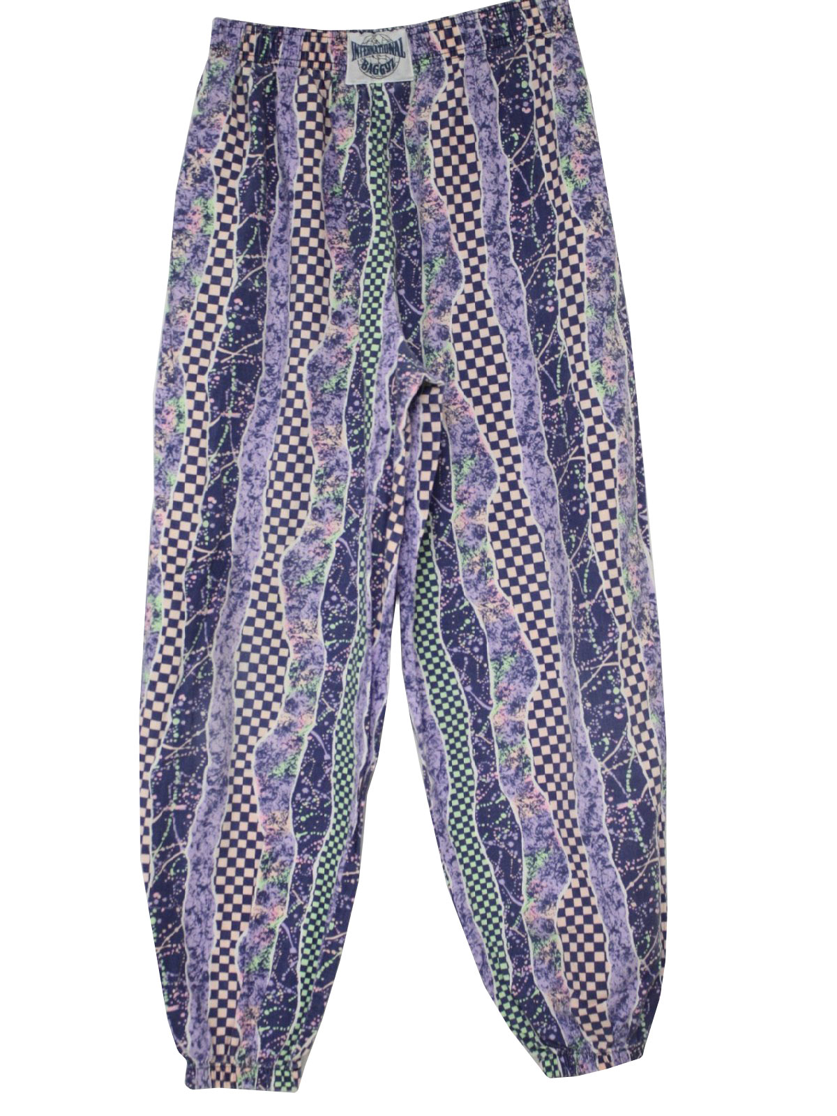 1980s Vintage Pants 80s International Baggyz Mens