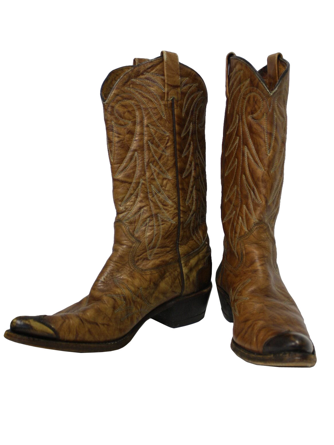 Mens Pointed Toe Cowboy Boots