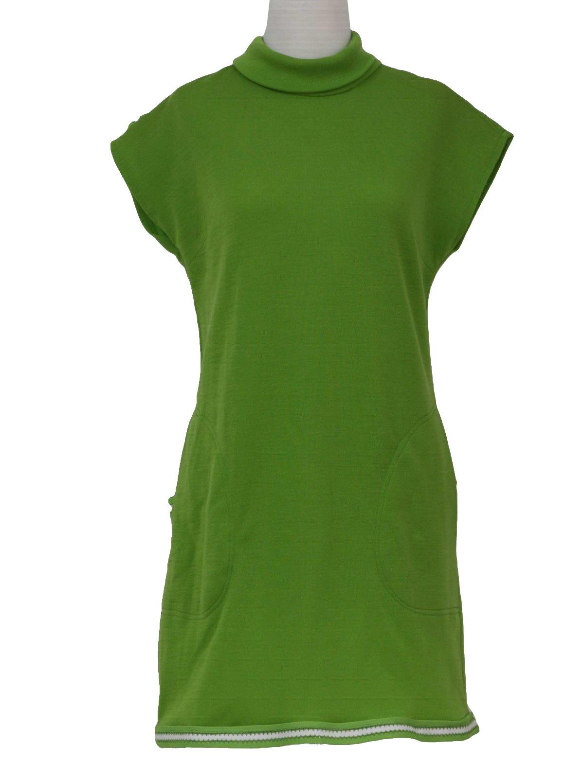 Vintage Sills Sixties Mini Dress 60s Sills Womens