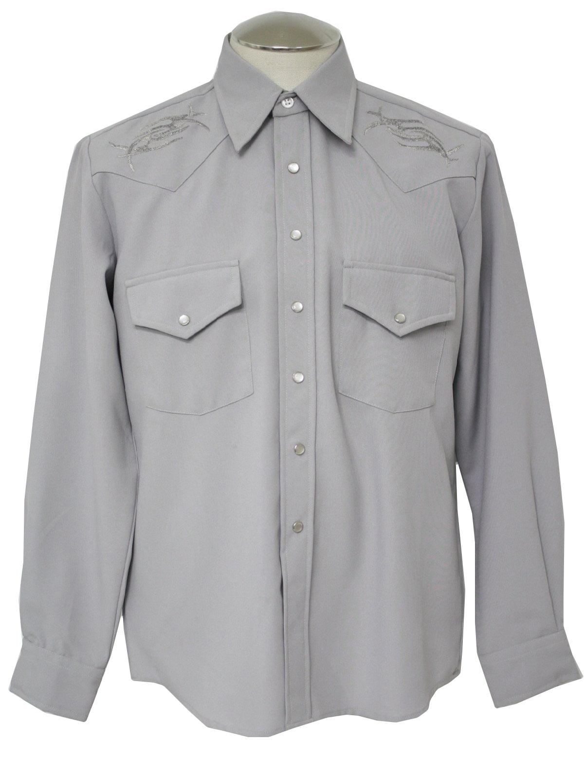 1980 S Western Shirt Kennington But Missing Label 80s