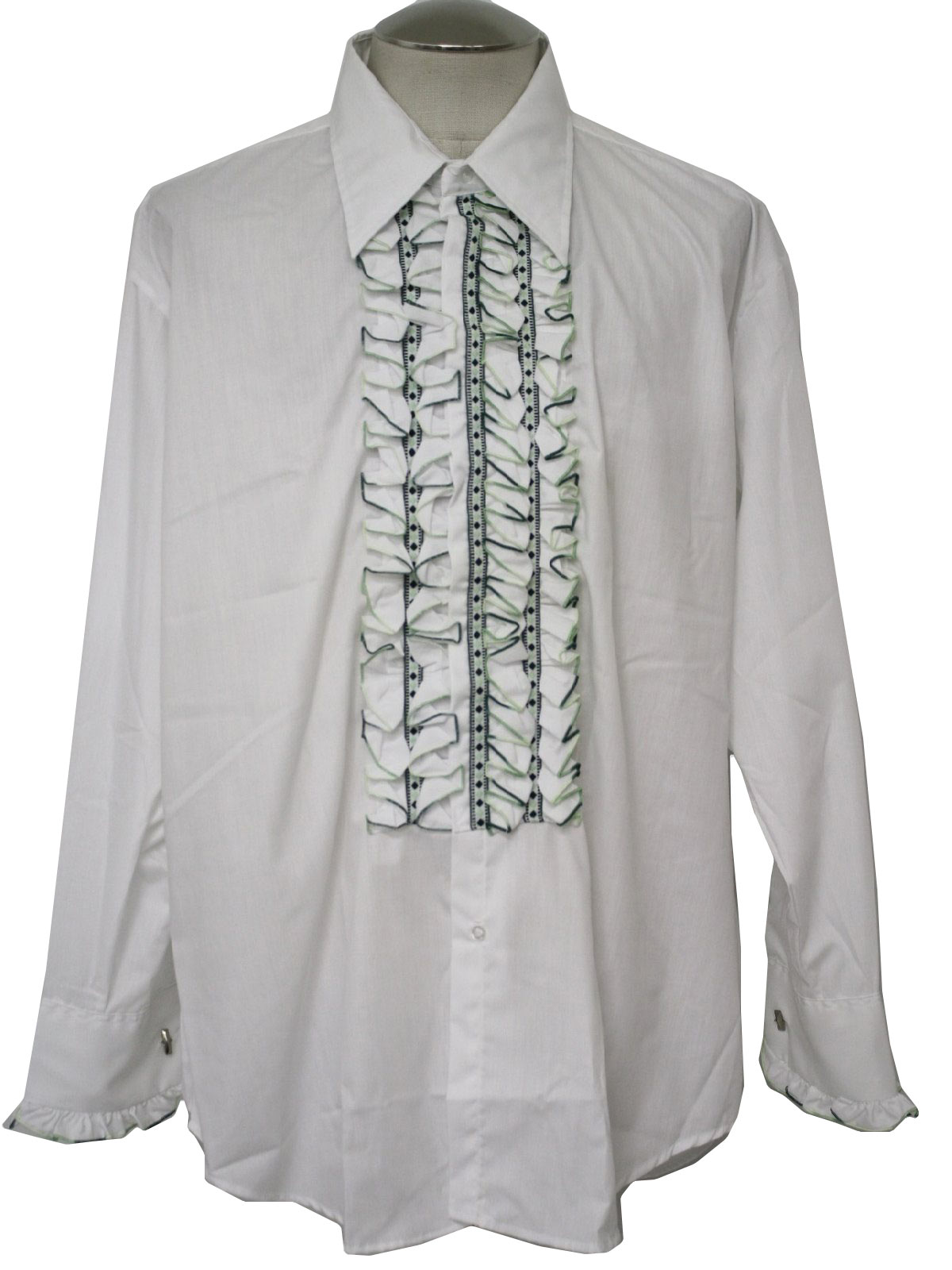 Vintage After Six Seventies Shirt 70s After Six Mens