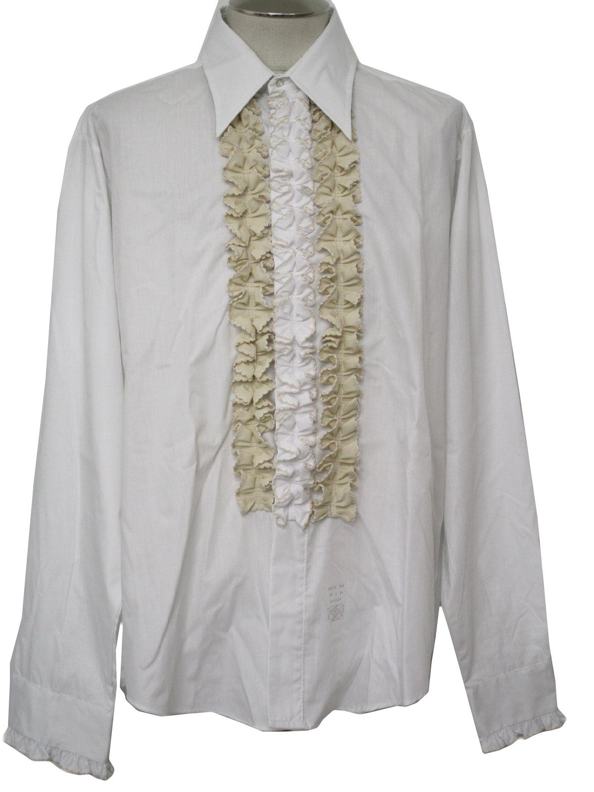 70s Retro Shirt 70s Palm Beach Formal Fashions Mens