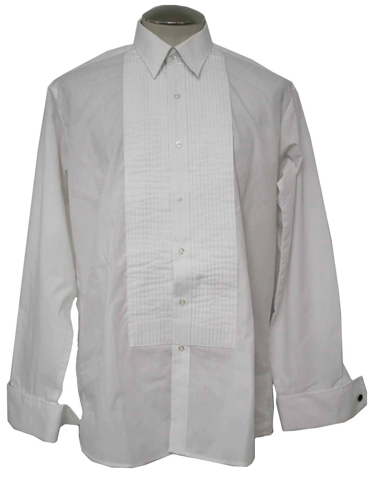 80 39 S Aetna Shirt Shirt 80s Aetna Shirt Mens White