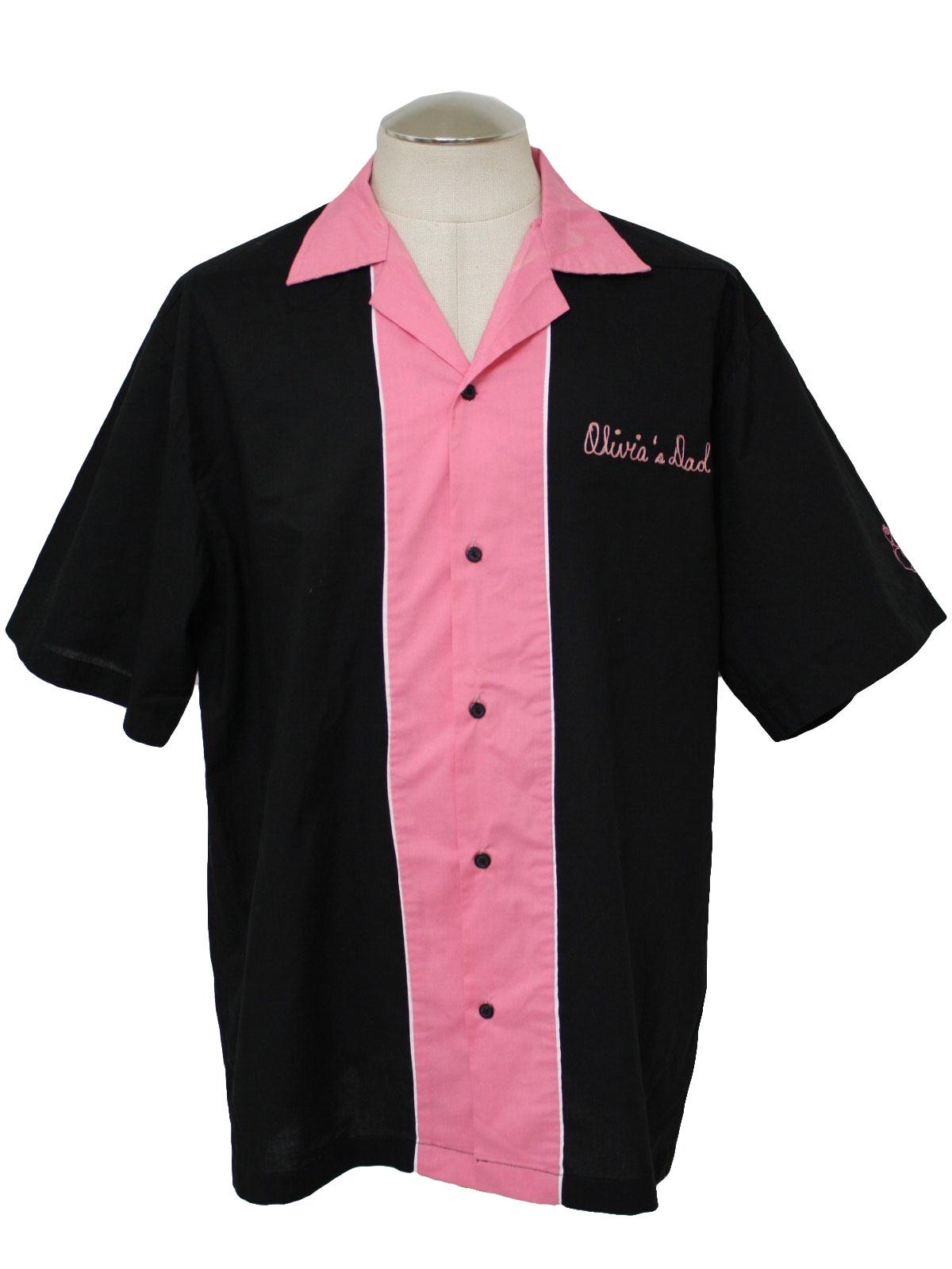 Retro 1990's Bowling Shirt (Cruisin USA) : 90s -Cruisin USA- Mens ...