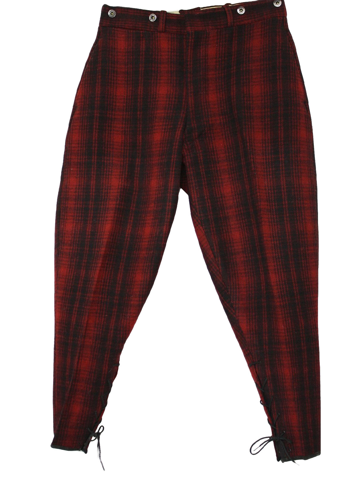 1960 S Pants Woolrich 60s Woolrich Mens Red And Black