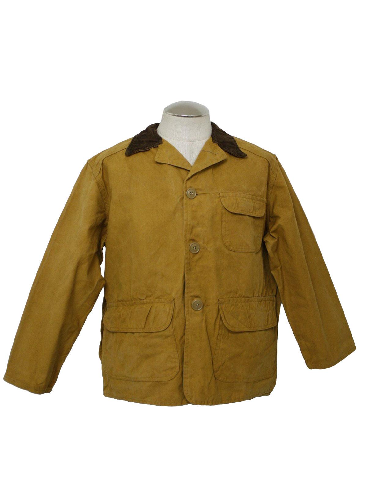 60 S Vintage Jacket 60s Black Sheep Mens Tan And Dark