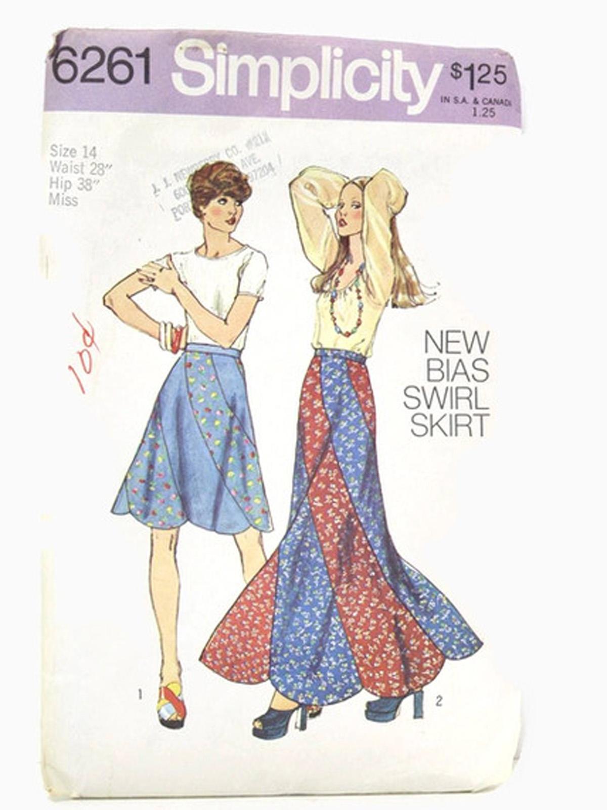 Swirl Skirt Pattern Patterns Gallery