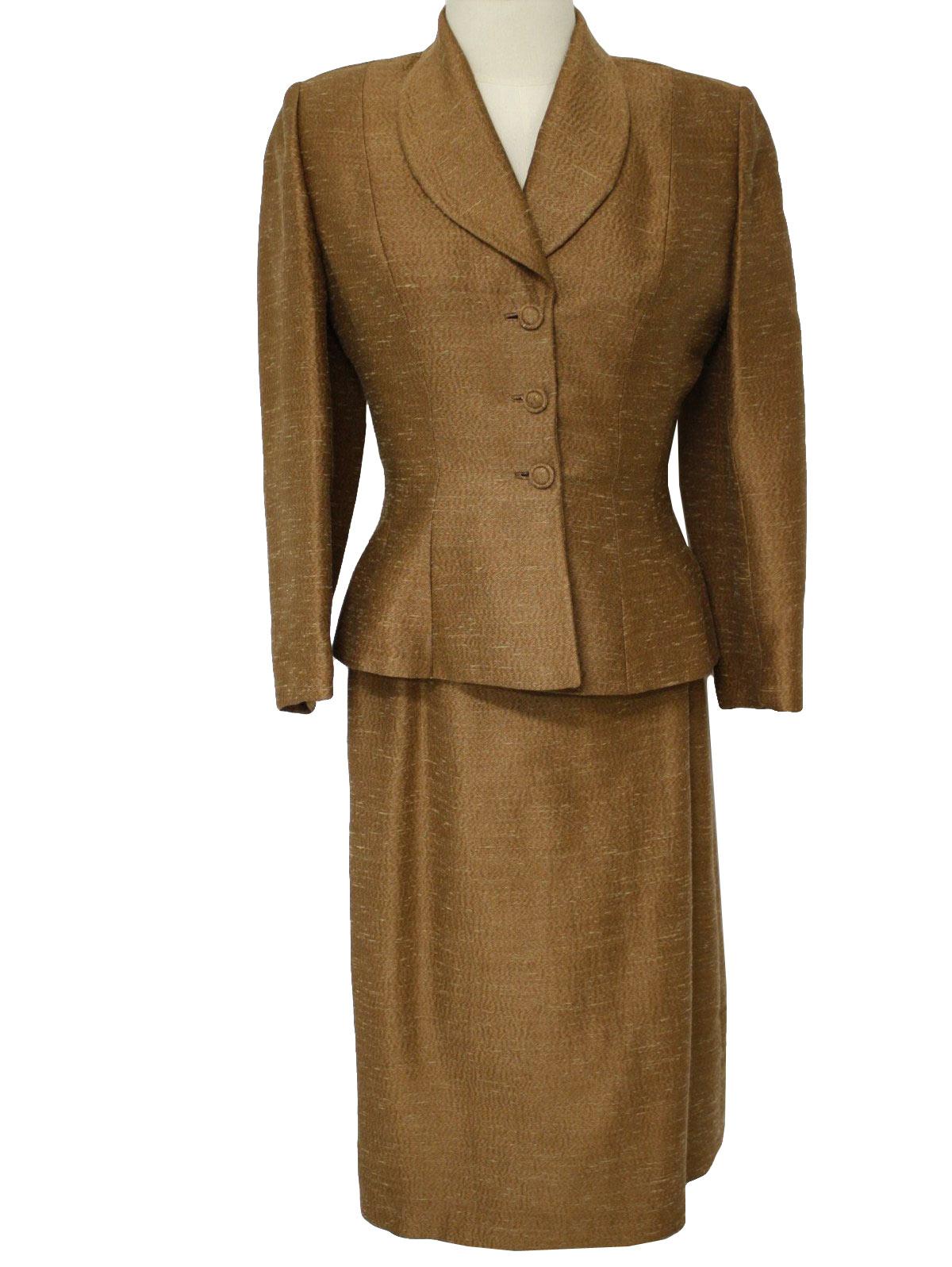 50s Suit Lilli Annette Diminutive Lilli Ann Designer 50s Lilli