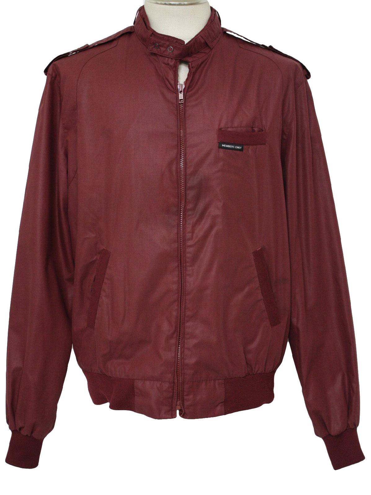 Members Only 80 S Vintage Jacket 80s Members Only Mens