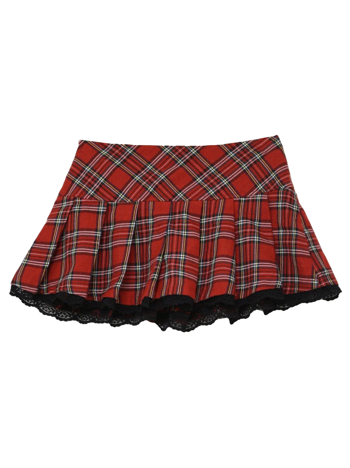 dress - Red and plaid black mini skirt video