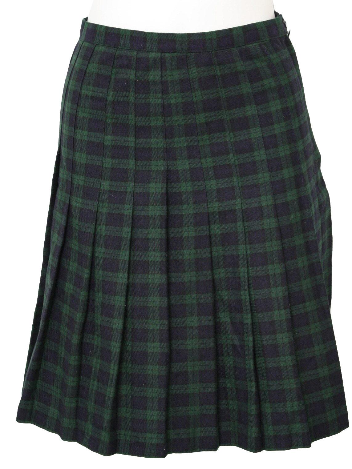 1990 s retro plaid skirt 90s hillard and hanson womens