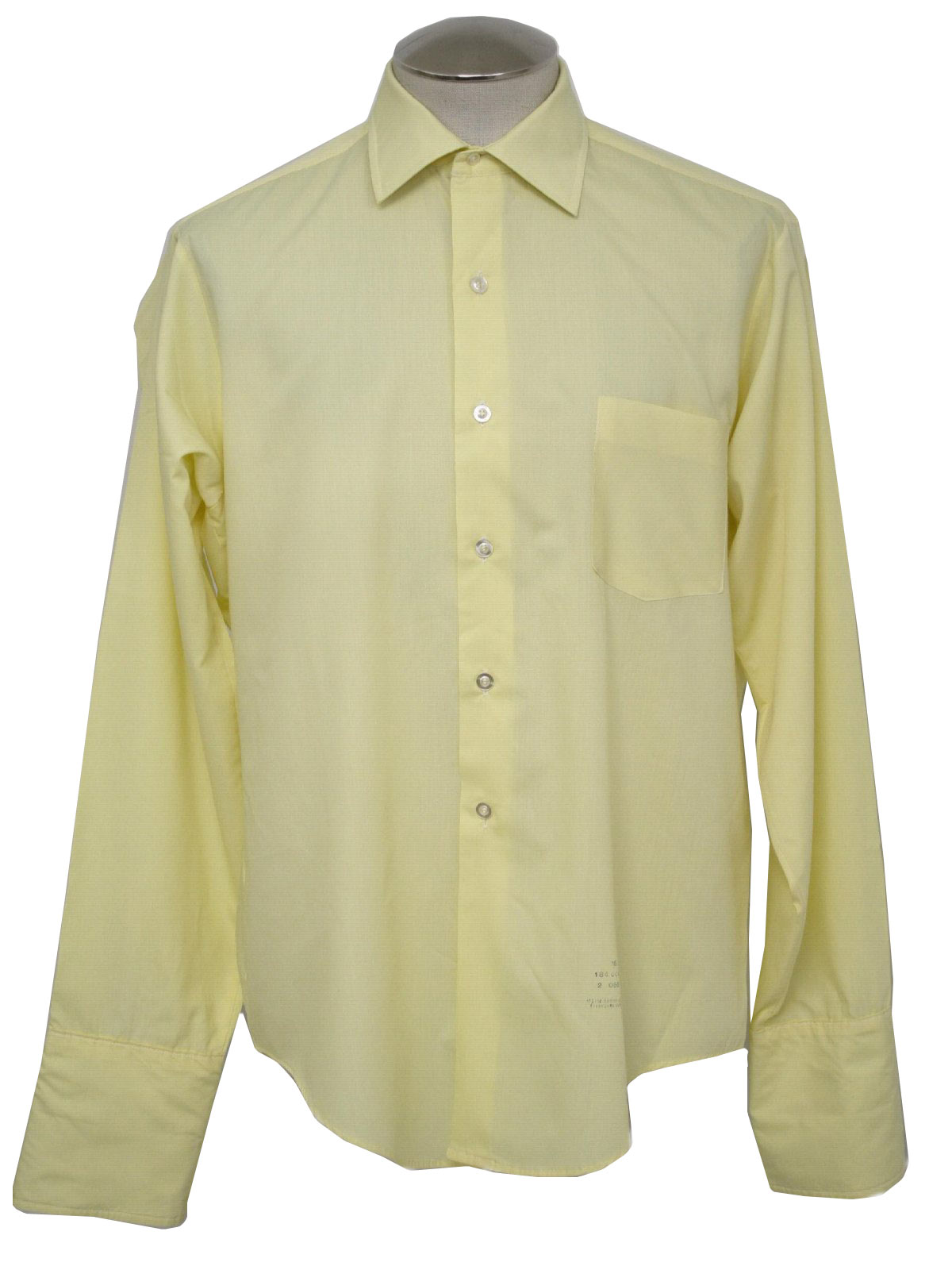 Vintage 1960's Shirt: Late 60s -Van Heusen Hampshire House- Mens ...