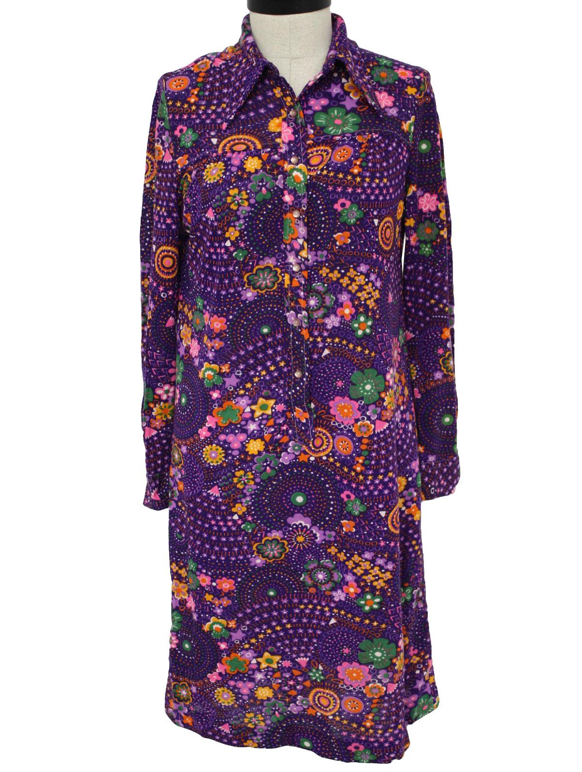 9ef3c94e198c Vintage The Art Shirt 70 s Dress  70s -The Art Shirt- Womens shades ...