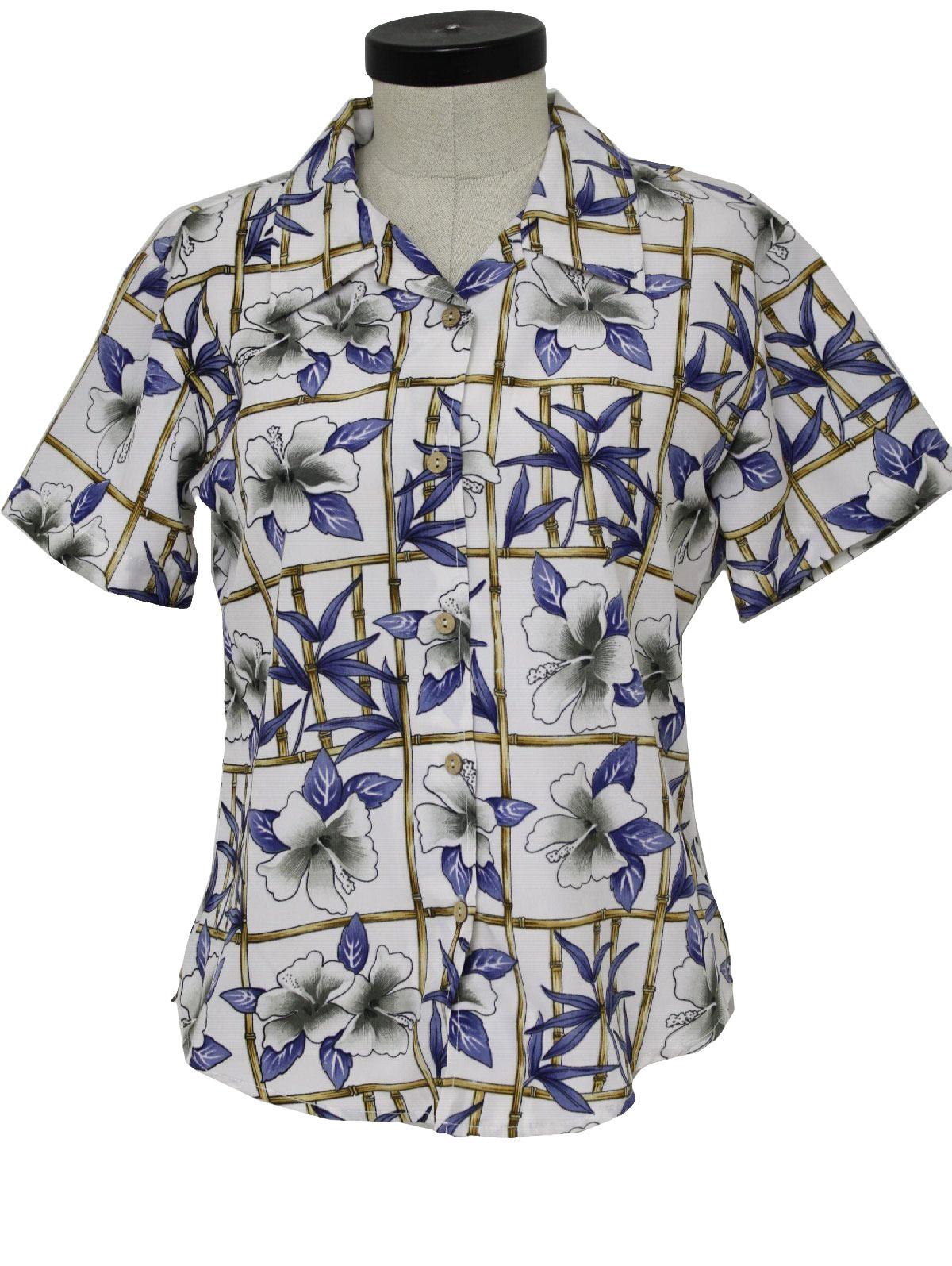 bamboo hawaiian casual shirts