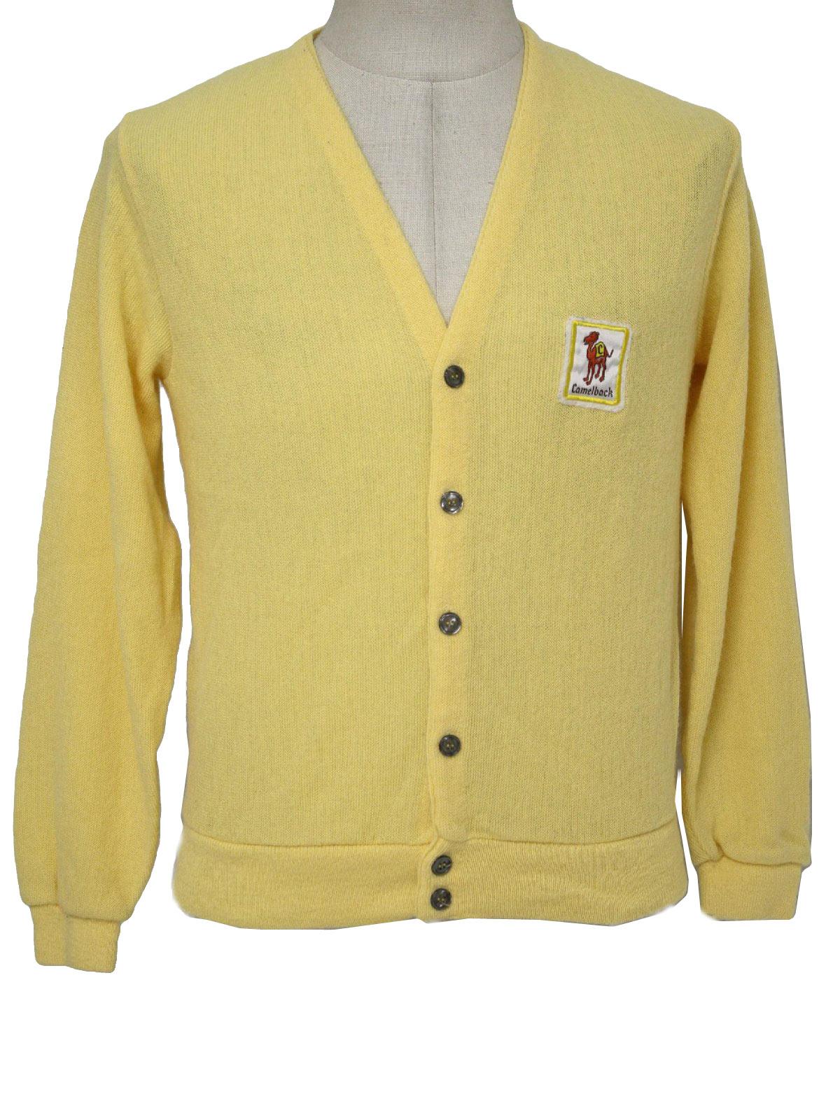 Retro 70s Caridgan Sweater (Scottsdale) : 70s -Scottsdale- Mens ...