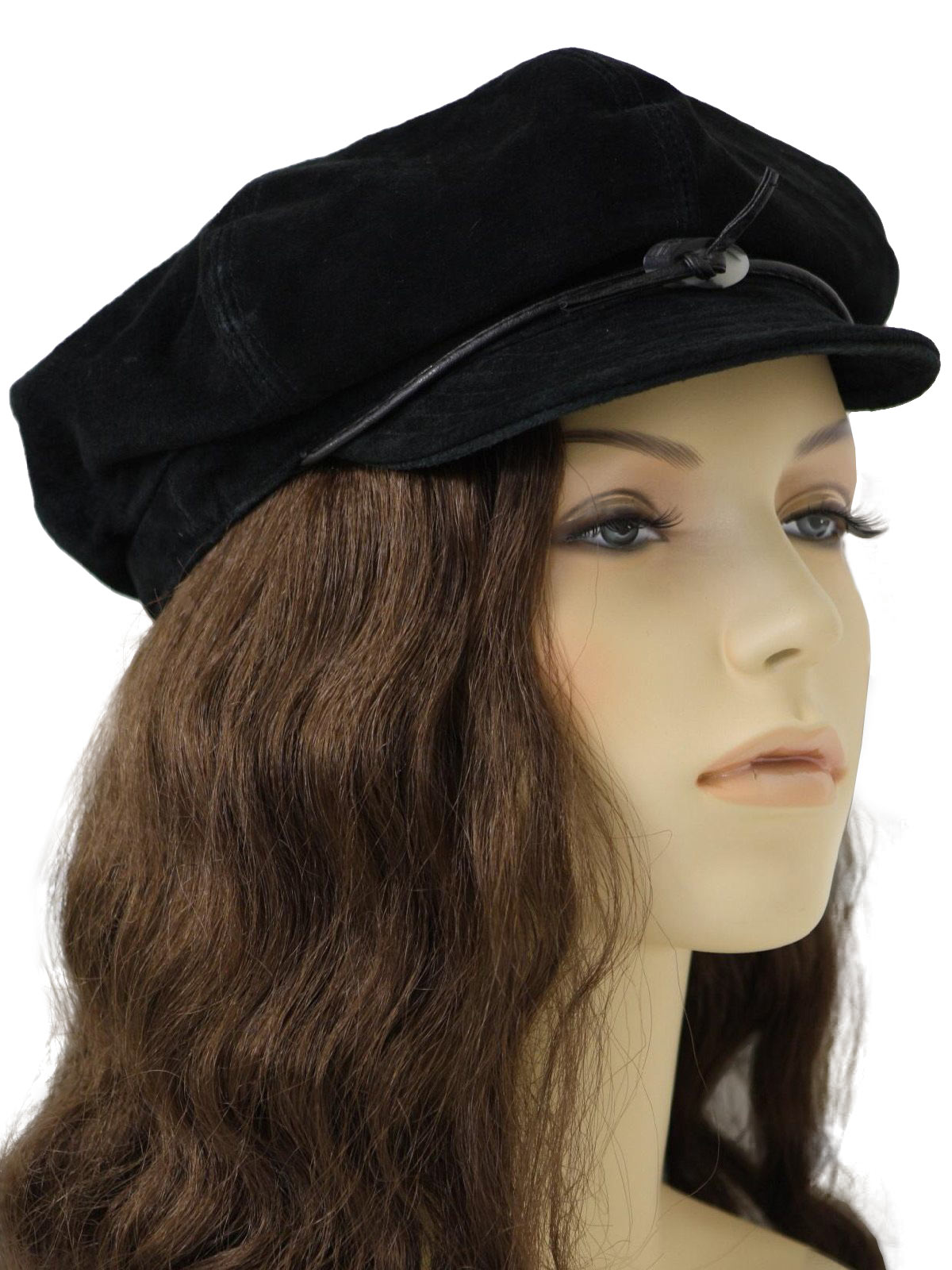 1960 s Retro Hat  60s style (made recently) -Trixie- Womens genuine ... 89ef55b15731