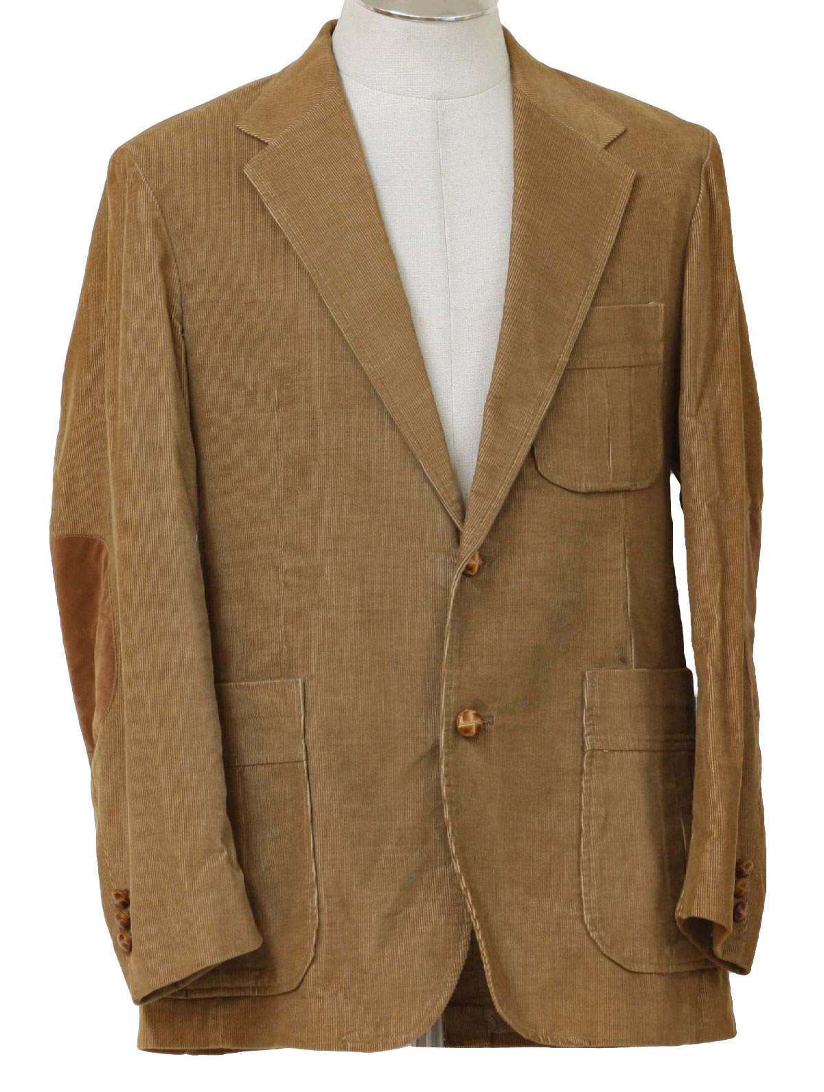 Vintage 70s Jacket: 70s -Pantela Sportwear Levis- Mens camel ...