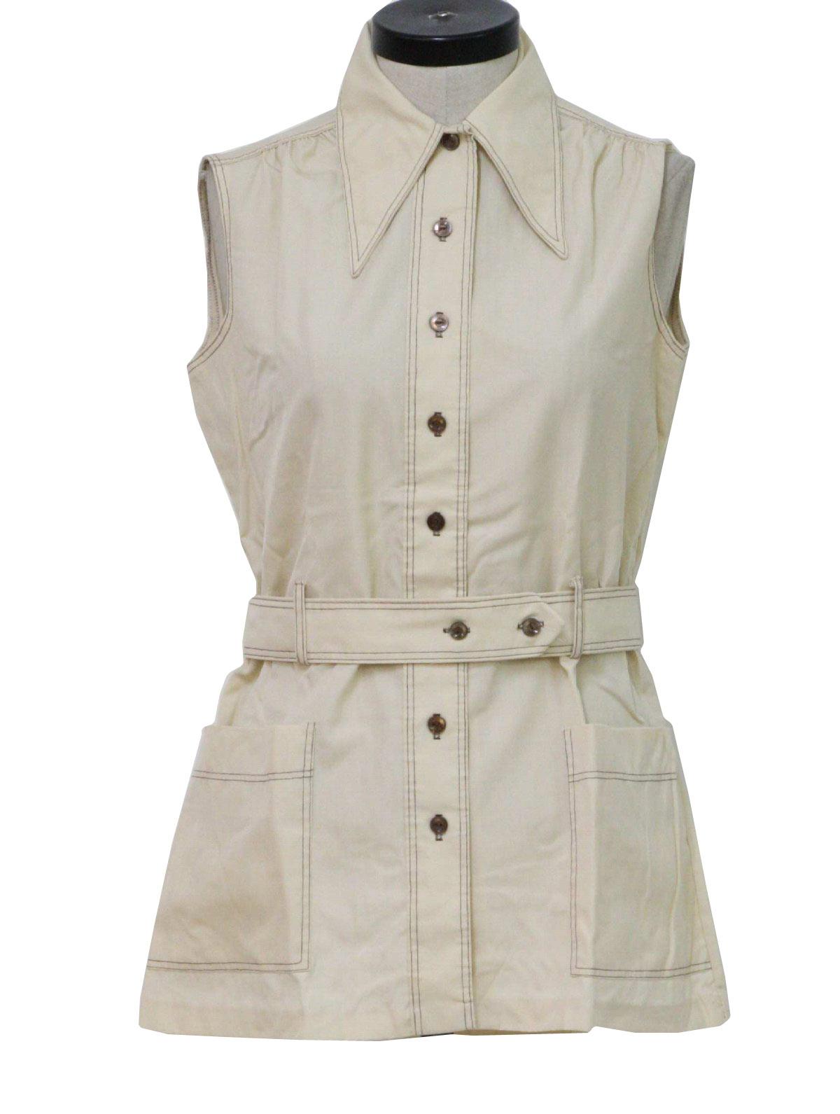 Retro 1970's Shirt (Fabric Label) : 70s -Fabric Label- Womens ...