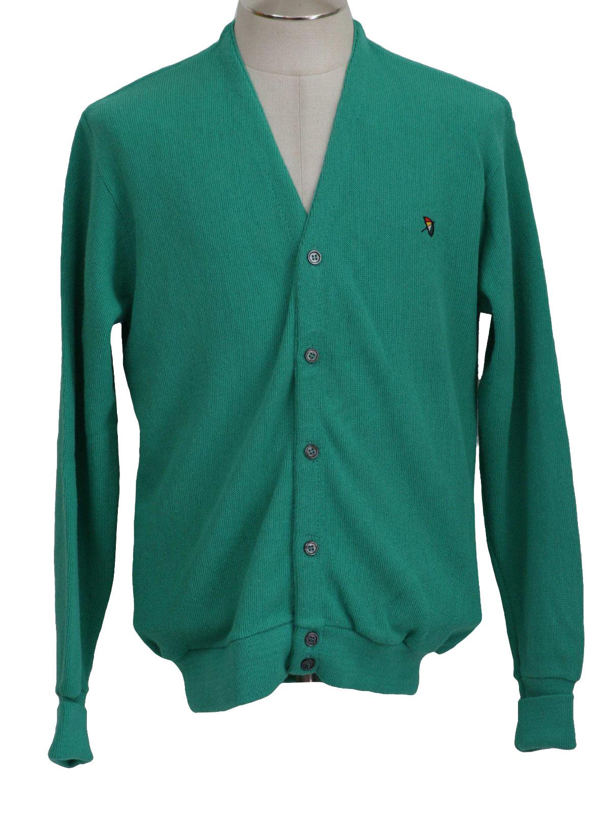 Eighties Vintage Caridgan Sweater 80s Arnold Palmer