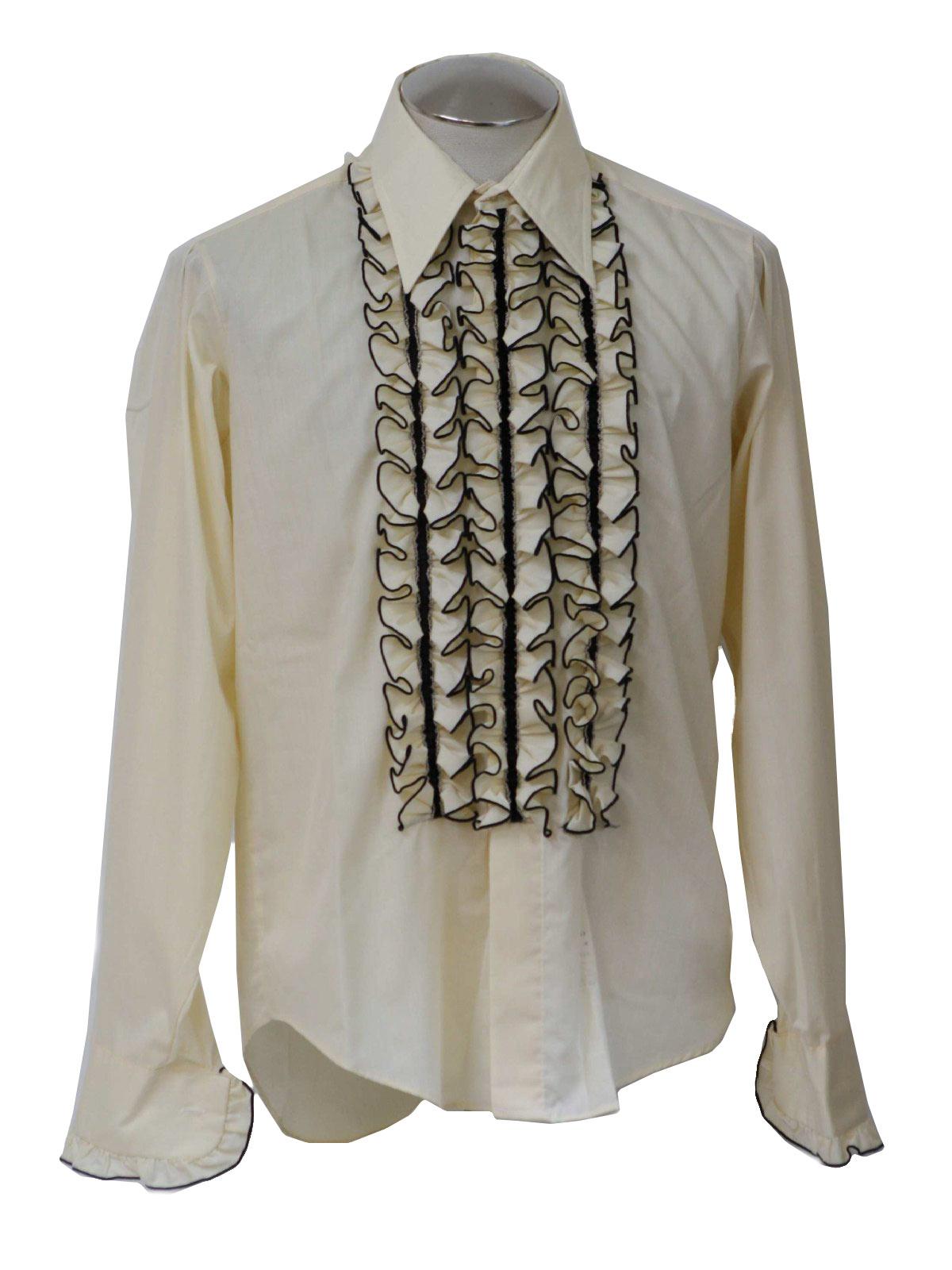 Vintage Palm Beach Formal Fashions Seventies Shirt 70s