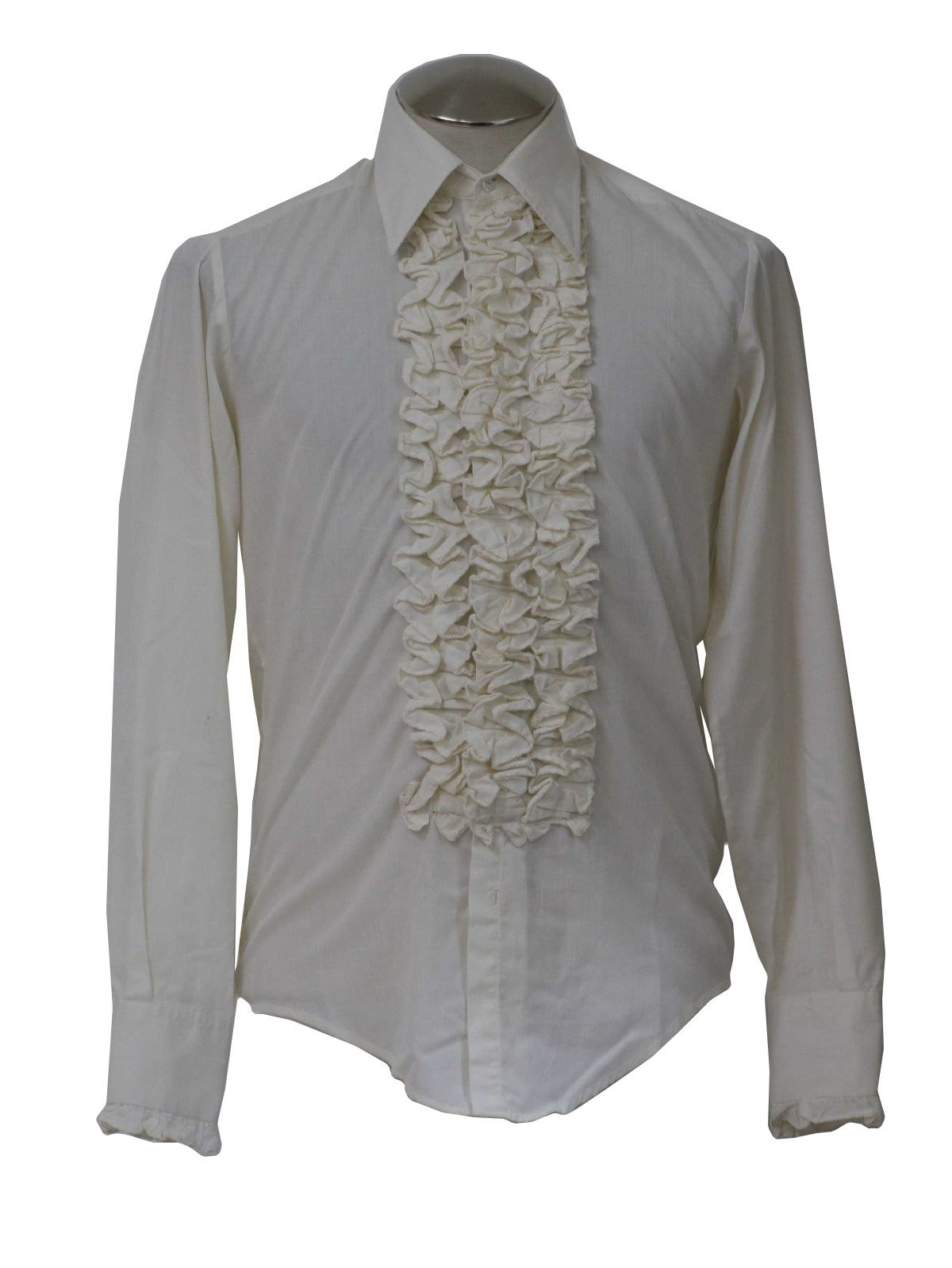 After Six 70 39 S Vintage Shirt 70s After Six Mens Ivory