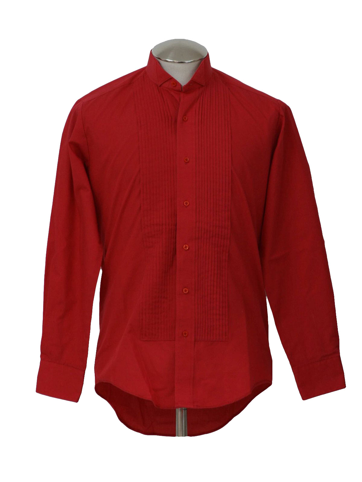 retro eighties shirt 80s classix mens red polyester
