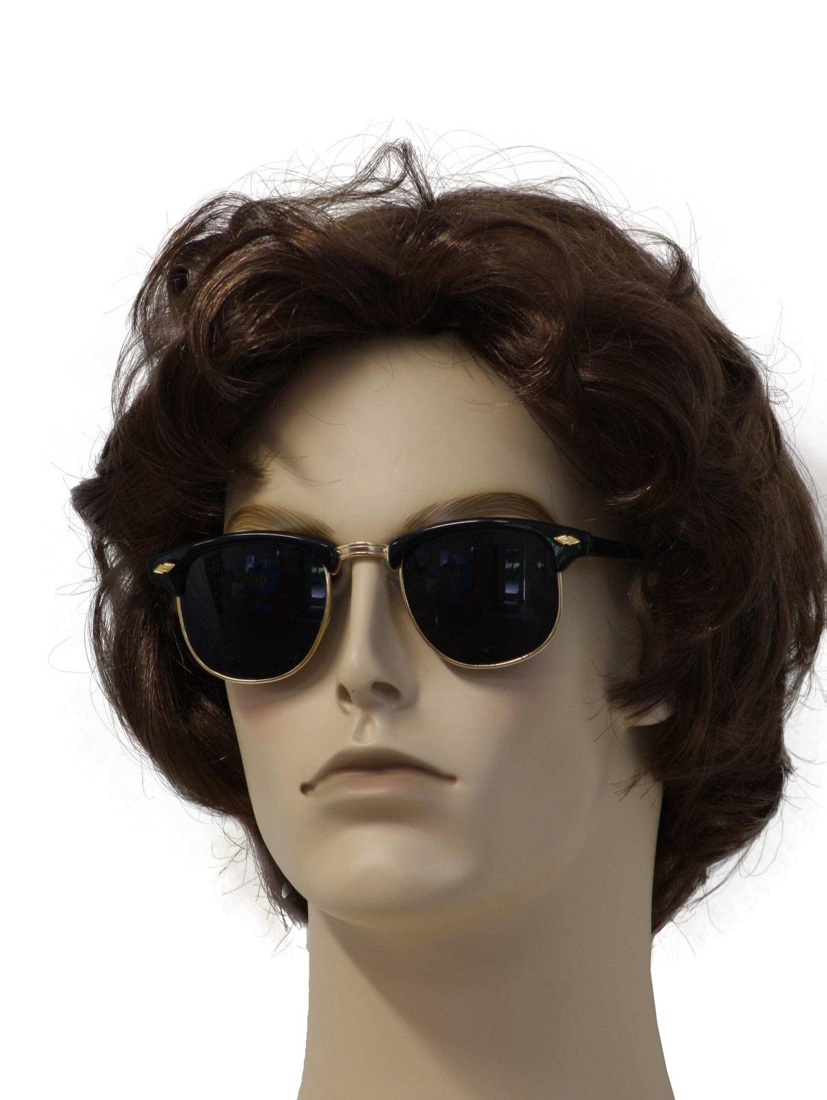 Oversized Wayfarer Sunglasses Men  mens vintage sunglasses at rustyzipper com vintage clothing