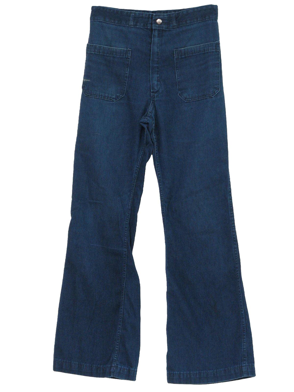 Mens Bellbottom Jeans
