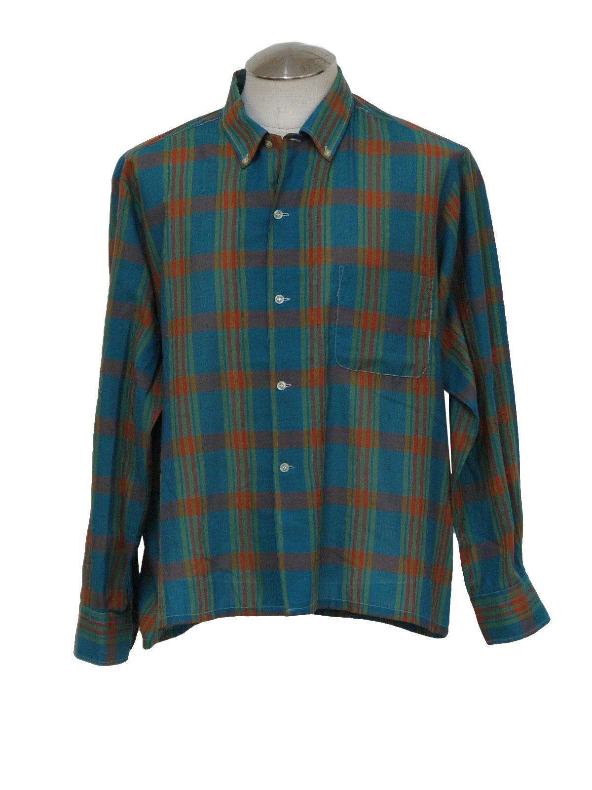 60 39 s kmart permanent press shirt late 60s kmart for Kmart button up shirts