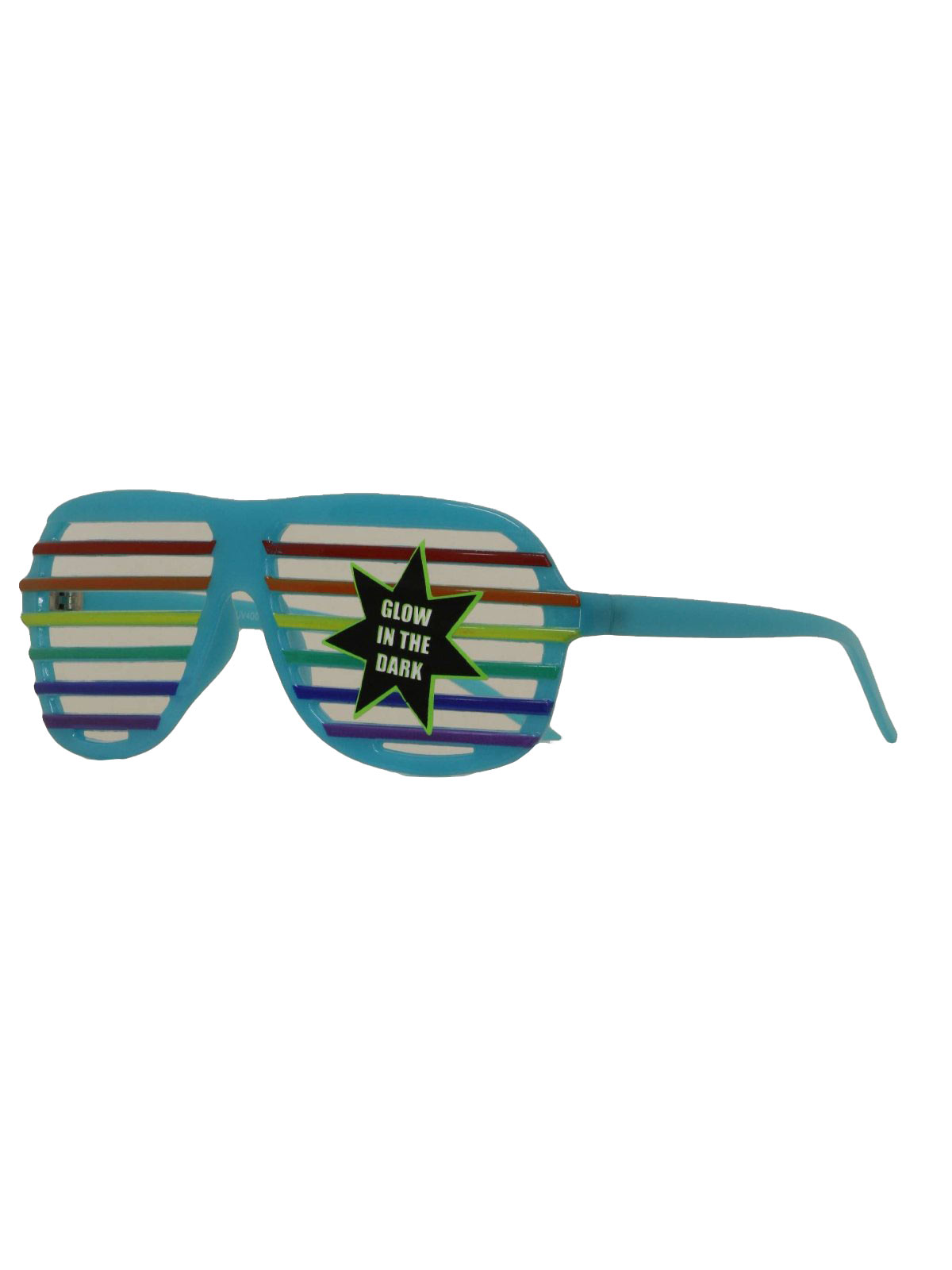 Shades Sunglasses  glow in the dark eighties vintage glasses 80s style glow in the
