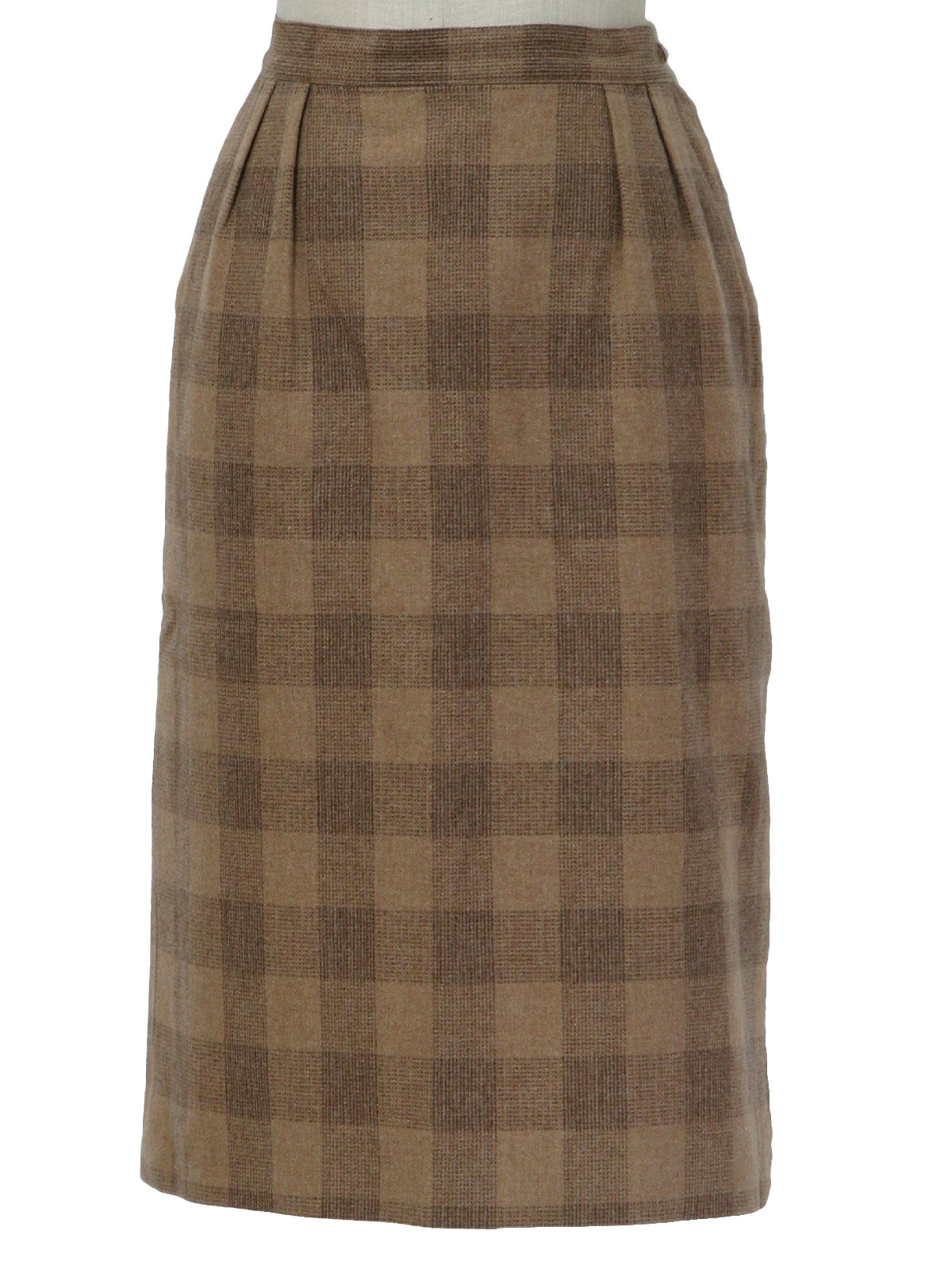 e8096cad0a4f Pendleton 70 s Vintage Wool Skirt  70s -Pendleton- Womens light and ...