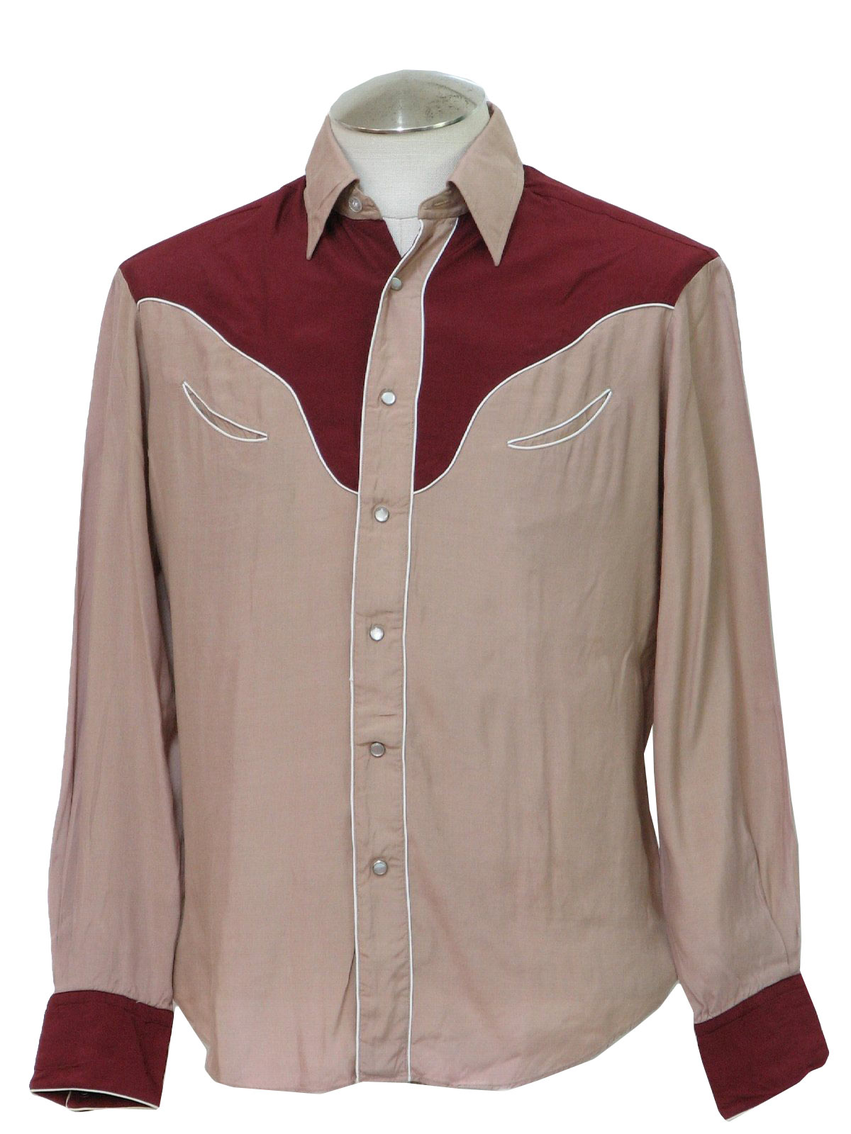 Retro 50s Western Shirt Kennington Style made In