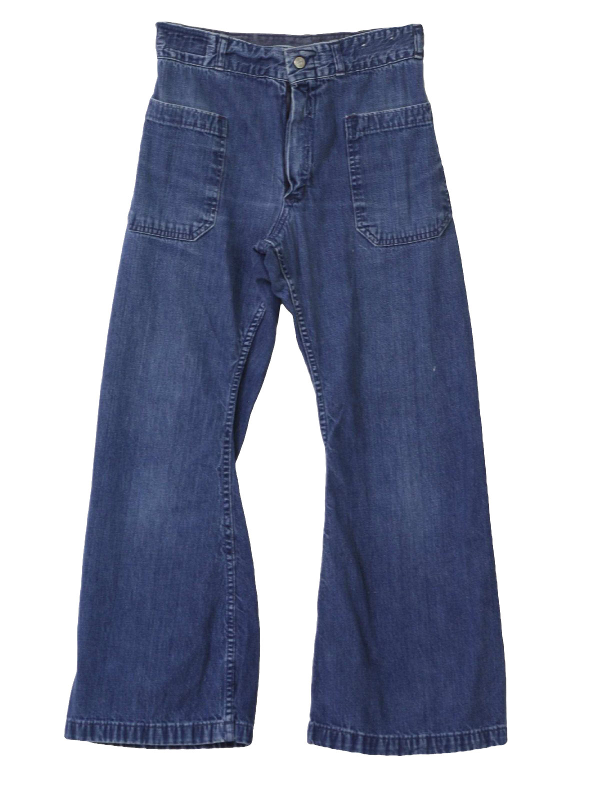 60s Bellbottom Pants (Seafarer): 60s -Seafarer- Womens well worn ...