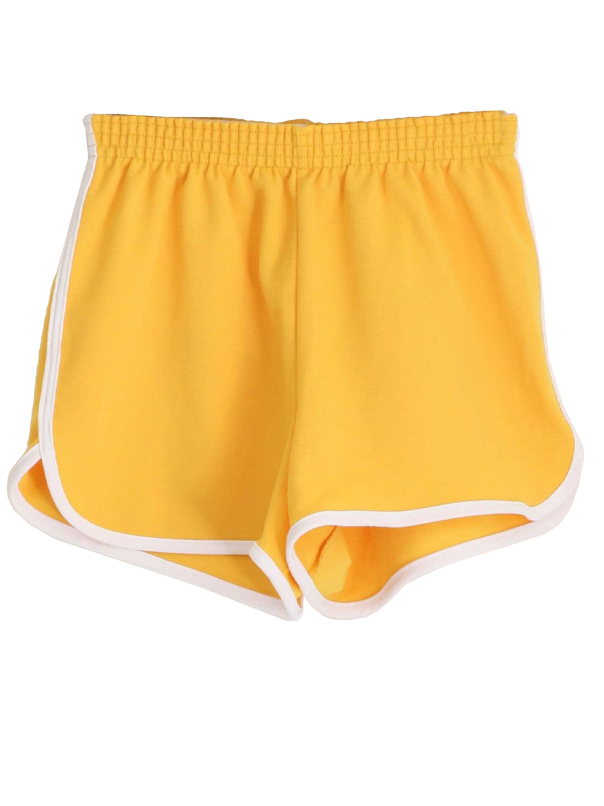 70s Vintage Broderick Shorts: 70s -Broderick- Mens yellow and ...
