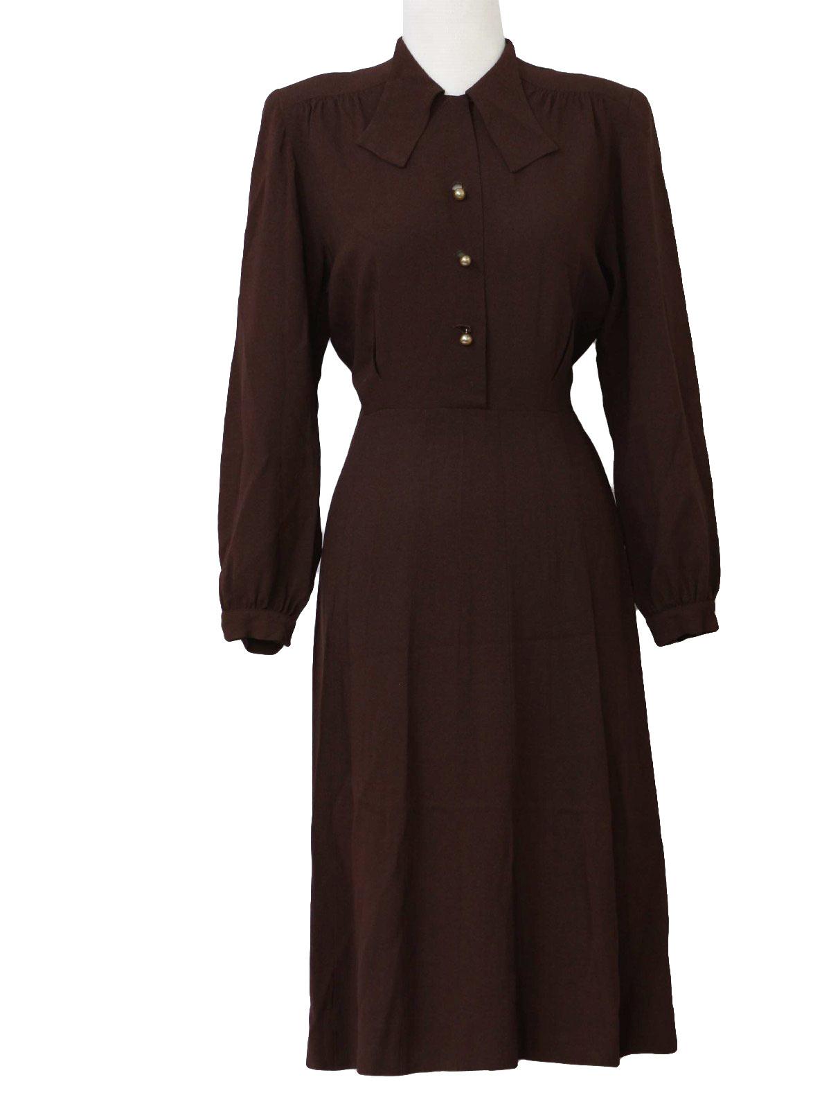 40s Vintage Ann Foster Dress 40s Ann Foster Womens